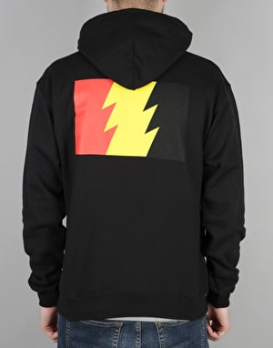 The Hundreds x Champion Flag Emblem Pullover Hoodie - Black