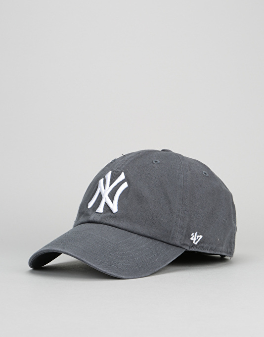 best service f2155 60383  47 Brand MLB New York Yankees Relaxed Clean Up Cap - Vintage Navy   Caps    5 Panels, Snapbacks, Dad Hats   Trucker Caps   Route One