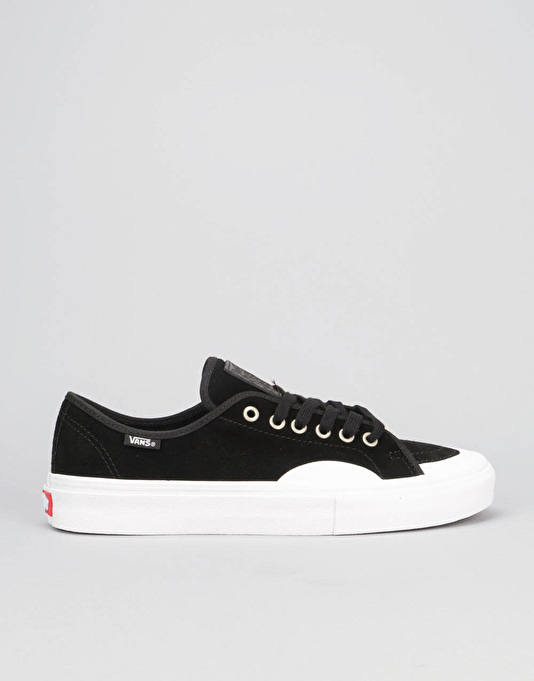 Vans AV Classic Skate Shoes - (Rubber) Black/White