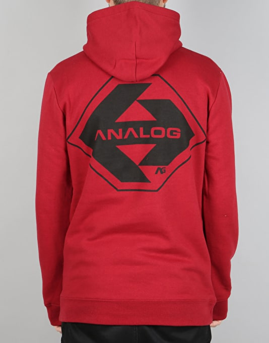 Analog Agent Pullover Hoodie - Blood