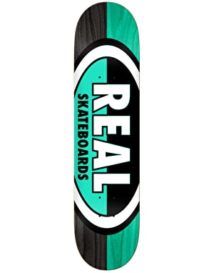 Real 50-50 Oval Team Deck - 8.12