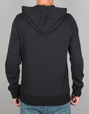 Element Cut Out Icon Pullover Hoodie - Flint Black
