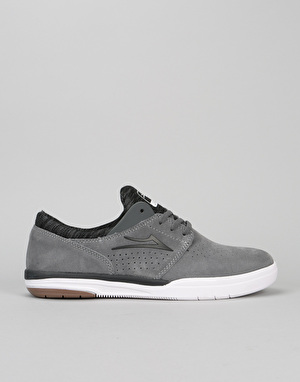 Lakai Fremont Skate Shoes - Grey Suede