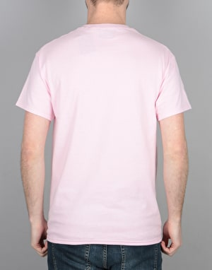 Route One Essentials T-Shirt - Light Pink