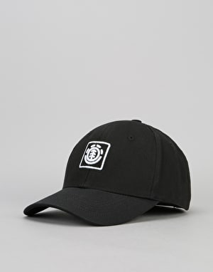 Element Tree Logo Cap - Off Black