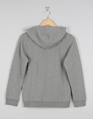 Element Classic Cornell Boys Zip Hoodie - Grey Heather