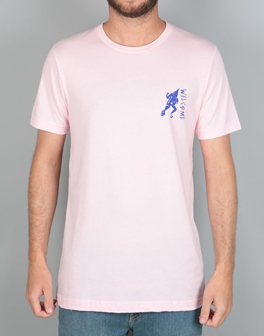 Welcome Creepers T-Shirt - Soft Pink