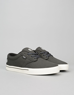 Etnies Jameson 2 Eco Skate Shoes - Dark Grey/White