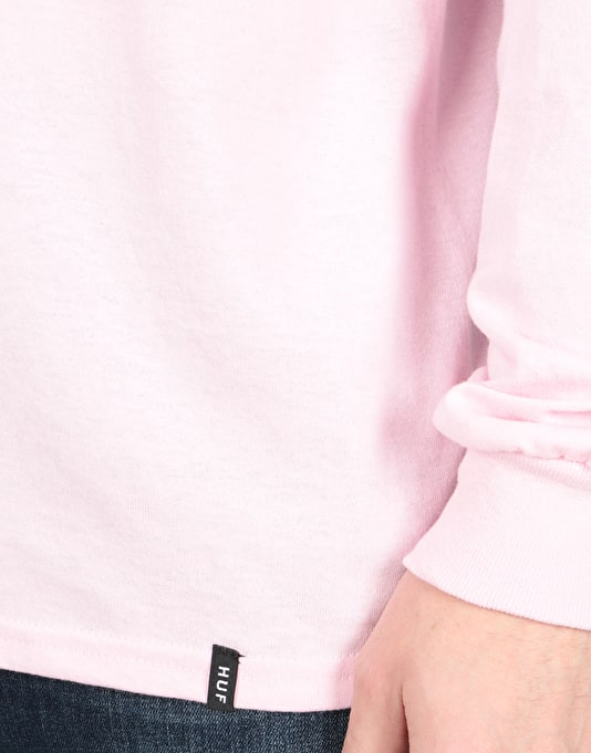 HUF x Pink Panther Heads L/S T-Shirt - Pink