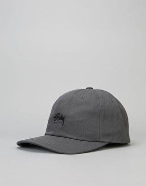 Stüssy Stock Low Cap - Charcoal