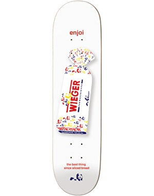 Enjoi Wieger White Bread Pro Deck - 8.375