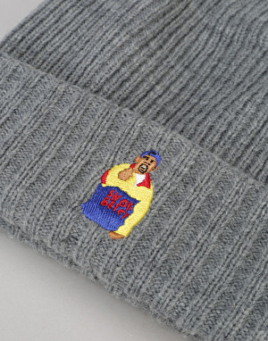 Acapulco Gold Chef Beanie - Heather Grey