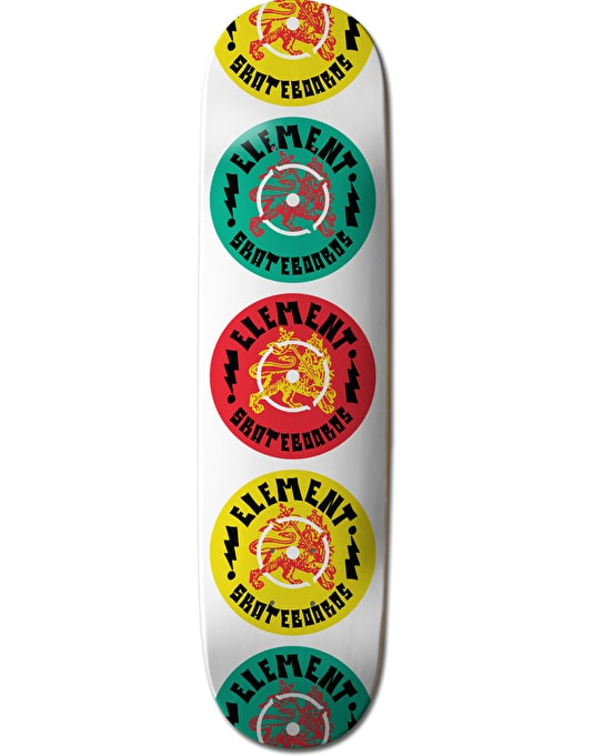 Element 7 Inch Rocksteady Featherlight Team Deck - 8.25""