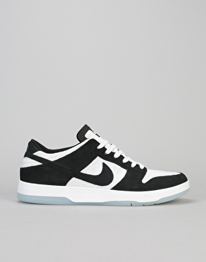 Nike SB Zoom Dunk Low Elite QS Skate Shoes - Black/Black-White-Clear