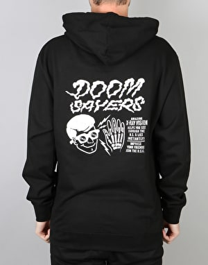 Doom Sayers X-Ray Vision Pullover Hoodie - Black