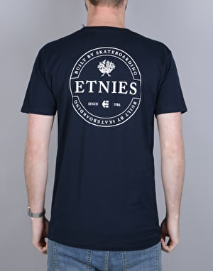 Etnies One Seal T-Shirt - Navy