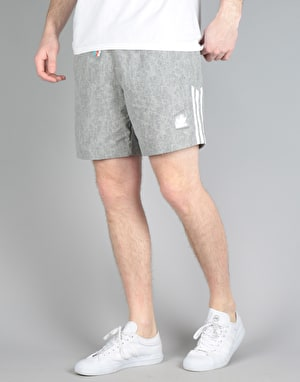 Adidas Nautical Shorts - Mgh Solid Grey/White