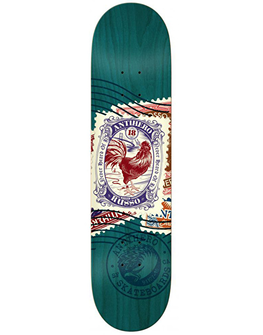 Anti Hero Russo Postal Pro Deck - 8.25""