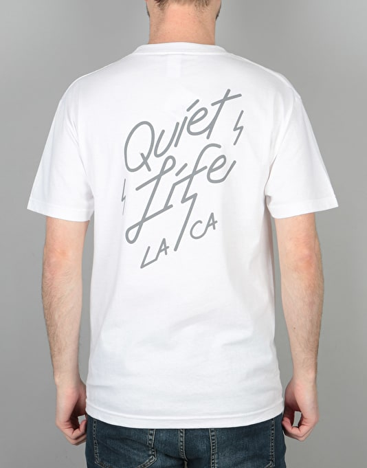 The Quiet Life Bolt T-Shirt - White