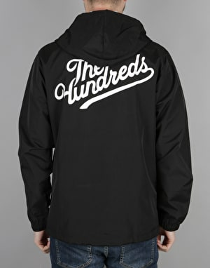 The Hundreds Slant Tall Hooded Jacket - Black