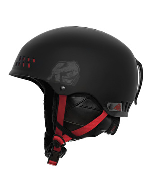 K2 Phase Pro Snowboard Helmet - Black/Red