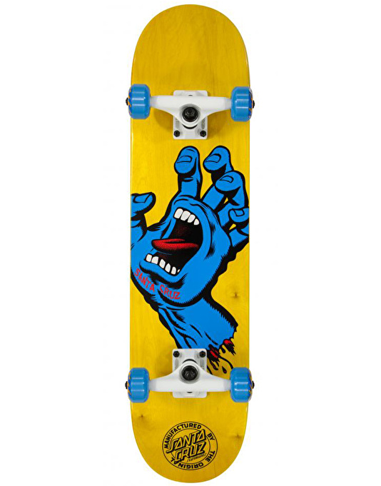 Santa Cruz Screaming Hand Complete Skateboard - 7.5""