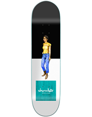 Chocolate Alvarez Everyday People Skateboard Deck - 8