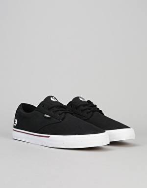 Etnies Jameson Vulc Skate Shoes - Black/White