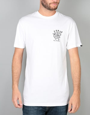 Vans Tied Tongue T-Shirt - White