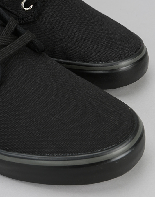 Globe Motley Skate Shoes - Black BTS
