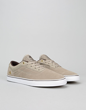 Emerica The Herman G6 Vulc Skate Shoes - Warm Grey