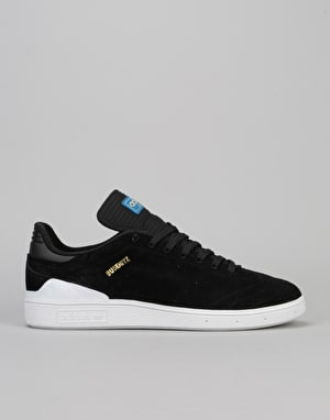 Adidas Busenitz RX Skate Shoes - Core Black/White/Bluebird
