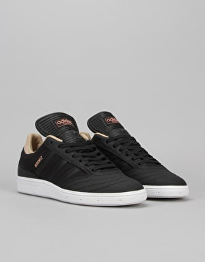 Adidas Busenitz Skate Shoes - Core Black/White/St Pale Nude
