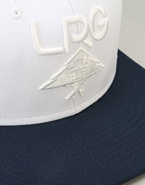LRG Research Collection Snapback Cap - White