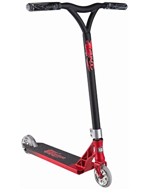 Grit Tremor 2017 Scooter - Satin Red/Grey
