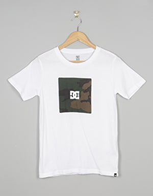 DC Box Boys T-Shirt - Snow White