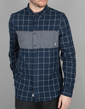Element Coopper Long Sleeve Shirt - Mightnight Blue