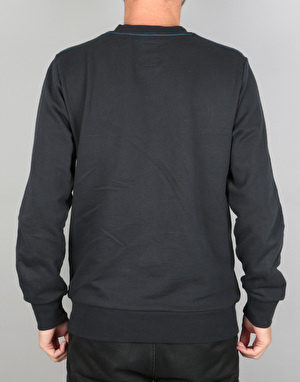 Element Winwall Crew Sweatshirt - Flint Black