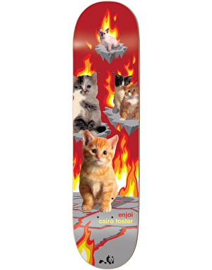 Enjoi Foster Kitten Nightmares Pro Deck - 8
