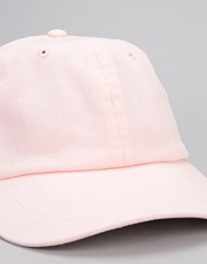 Route One Low Profile Dad Cap - Pastel Pink