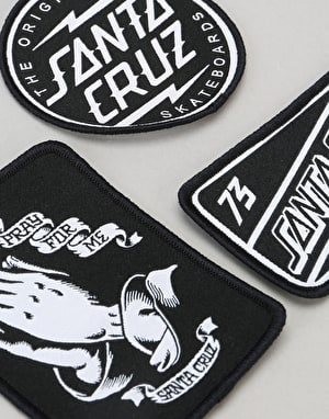 Santa Cruz SCB Patch - Black