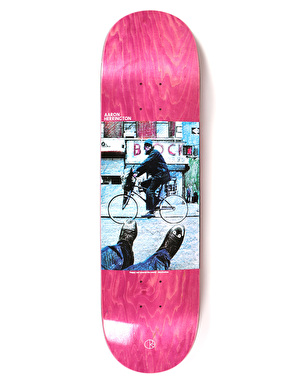 Polar Herrington Happy Sad Around The World Skateboard Deck - 8.5