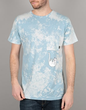 RIPNDIP Falling For Nermal Pocket T-Shirt - Sky