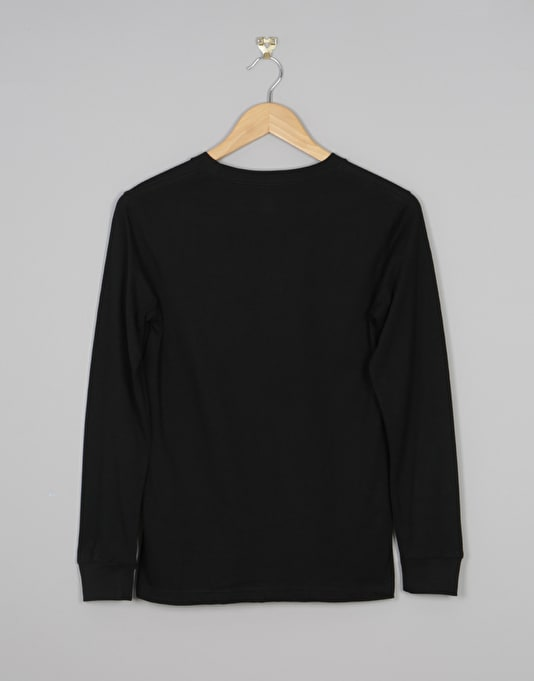 DC Star Long Sleeve Boys T-Shirt - Black