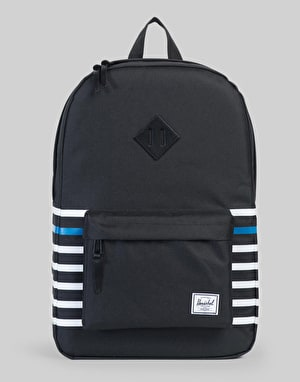 Herschel Supply Co. Offset Collection Heritage Backpack - Black Stripe