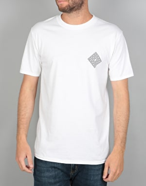 The National Skateboard Co. x Ben Horton T-Shirt - White