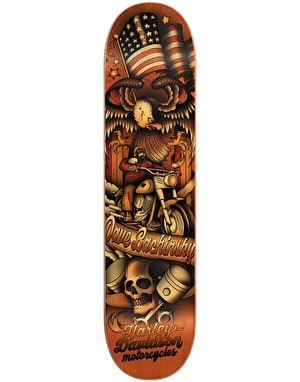 Darkstar x Harley-Davidson Bachinsky Tradition Pro Deck - 8.25