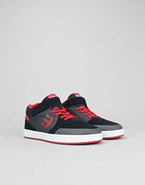 Etnies Marana Mid Top Boys Skate Shoes - Navy/Red/White