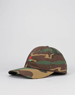The Hundreds Rose Strapback Cap - Camo