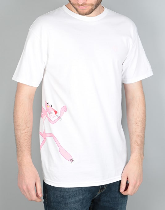 HUF x Pink Panther Run T-Shirt - White